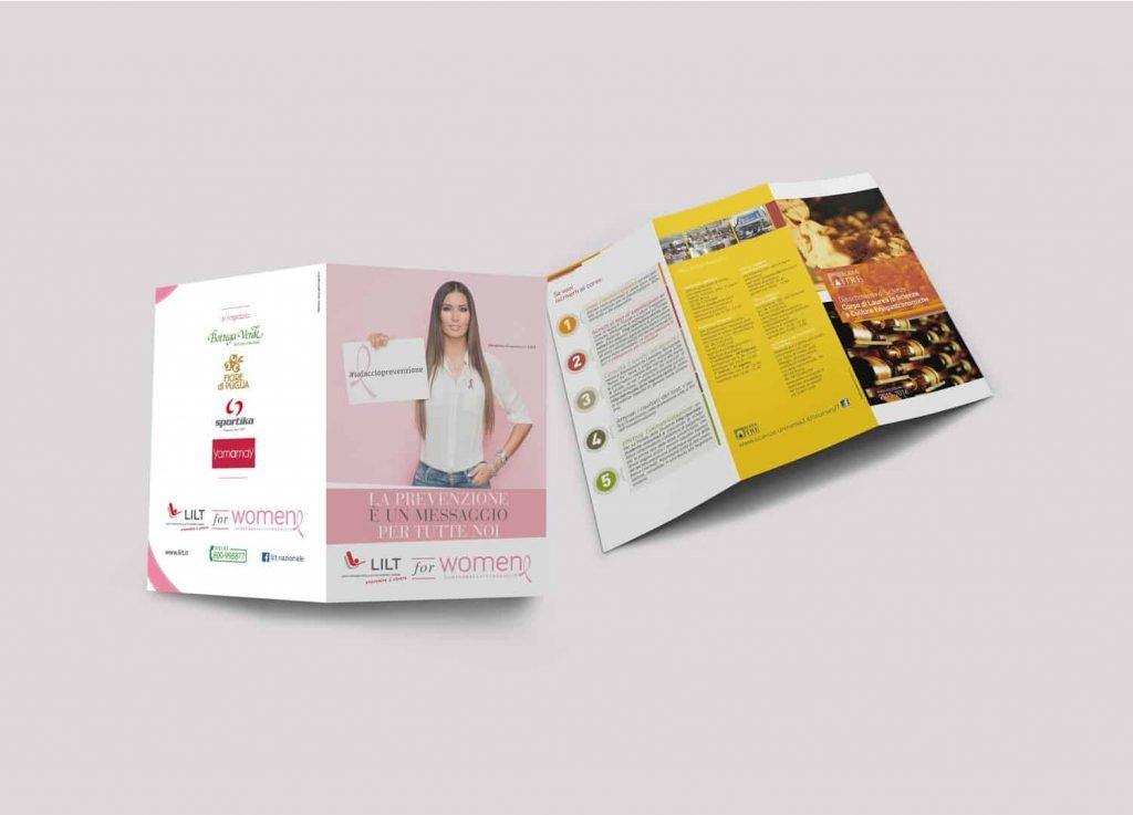 stampa pieghevoli depliant e brochure - gemmagraf tipografia roma