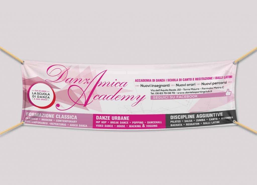 Stampa Banner e Striscioni - Gemmagraf tipografia Roma zona Centocelle
