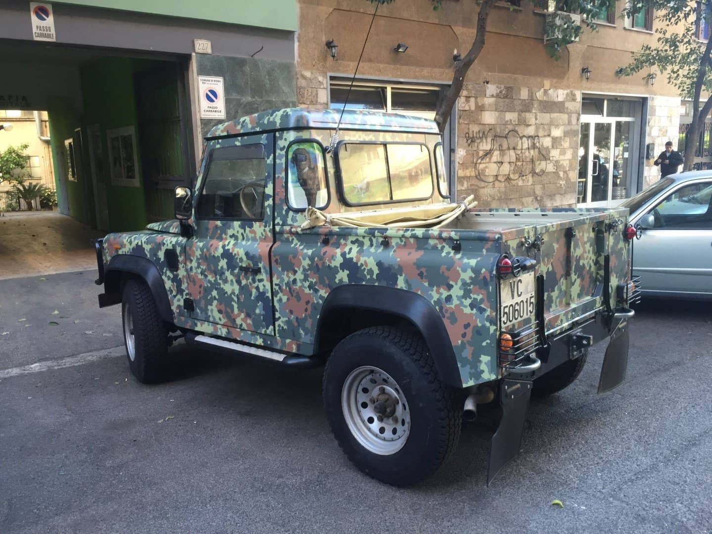 Car Wrapping Militare