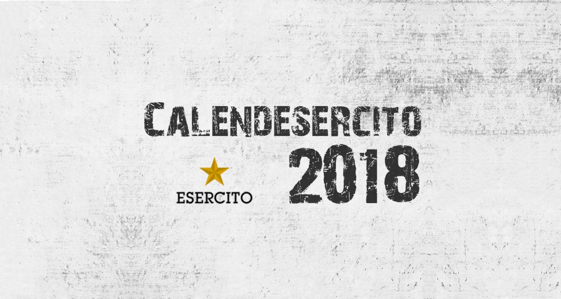 Calendario Marina Militare 2020.Calendario Esercito Italiano 2018