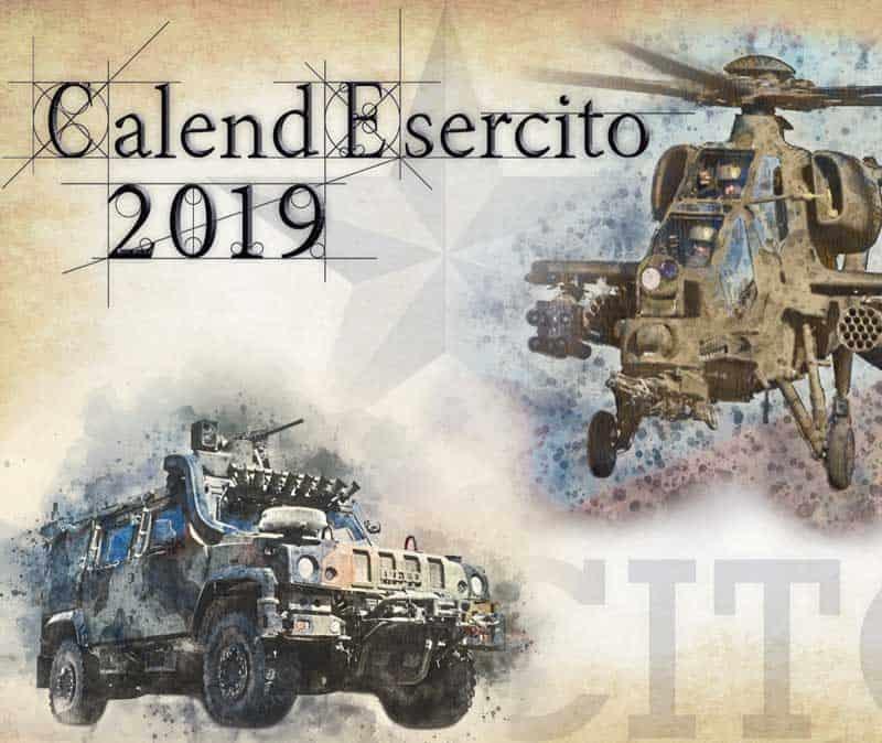 CalendEsercito 2019 - Calendario Ufficiale dell' Esercito Italiano