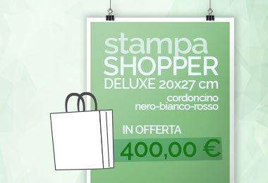 stampa shopper in offerta
