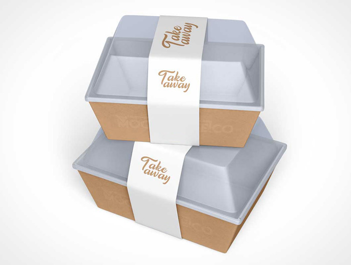 stampa packaging alimentare take away